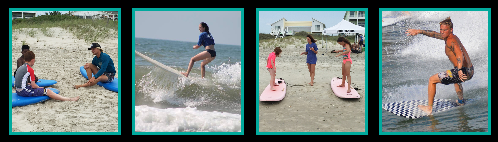 Surfing Lessons in Emerald Isle
