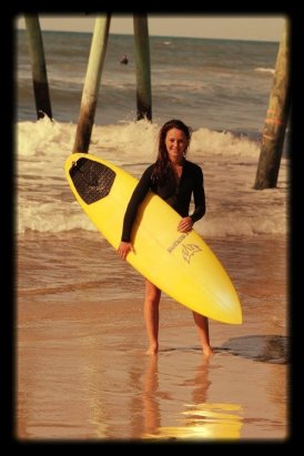 Emerald+Isle+Surf+Instructor+Abby