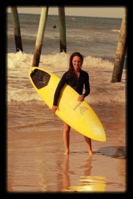 Emerald+Isle+Surf+Instructor+Abby